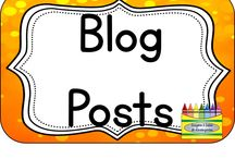 Blog Posts / Find links to my blog posts