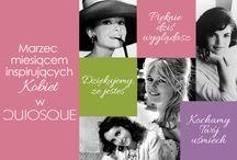Inspirujące Kobiety / Piękno emanujące od kobiet jest dla nas największą inspiracją...