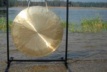 """26"""" to 30"""" Large Chinese Gong and Stand Combos"""