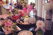a baby shower for a girl