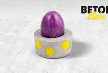 DIY Ideen aus Beton | BetonLiebe / Betonliebe ist die Do-It-Yourself-Serie von SAKRET!  Hier zeigen wir Dir, wie Du aus purem Beton schicke Eierbecher oder coole Schmuckstücke machst. Oder eine Schale, einen Kerzenständer, einen Blumentopf… mit den Produkten von SAKRET sind Deiner Kreativität keine Grenzen gesetzt.