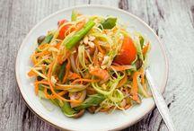 Salat / Allerlei rund um knackte und interessante Salate