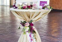 wedding cake table idea