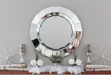 Mirrors / Love what mirrors do for a room.  Lots of ideas using mirrors.