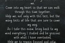 Exam Prayers
