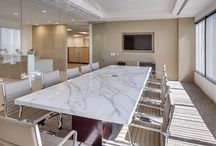 office meeting room, tables etc.