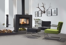 Vrijstaande houthaarden / Designed and contemporary free-standing wood-burning stoves