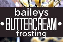 Boozy Cakes and Frostings / Favorite Boozy Cakes and Frostings!