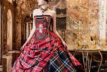 Tartan Gown