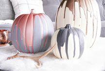 all pumpkin everything / Fall board