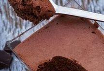Gezonde chocolade mousse koolhydraatarm