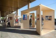 exhibit outdoors