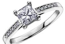 a1 cute engagement rings / by Jacquie Lahmers