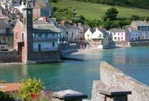 DAY TRIPS - TORPOINT, KINGSAND & CAWSAND, SOUTH EAST CORNWALL / Including Portwrinkle, Whitsand Bay.  About 53 miles (1 hr 30m to drive) from us.