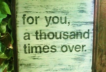 Inspirational quotes / by Tina B.