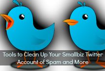 Twitter Tips and Tutorials / A collection of the best Twitter tips for small businesses, tools to use and how-to posts! Happy tweeting!