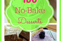No Bake Desserts!!! Yippeee! / Lots of No-Bake Desserts that you can make without turning on that hot oven! Yippee!