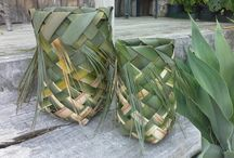 Flax Weaving - The Armoury Studio - Carol Skinner