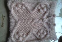 Knitted butterflies / knitted butterflies