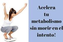 consejos para acelerar el metabolismo.