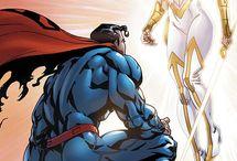 Superman with Wonder Woman / Superheroes