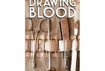 Drawing Blood / Elliot Murphy is leaving behind his wife to serve with the Canadian Armed Forces. Also enlisted in the Canadian Third Infantry, David Cleary is leaving behind an unsatisfactory home life. Their friendship is forged through basic training and takes them across the ocean into the heart of the conflict.