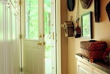 Mud Room: Dirt Stops Here! / Mud rooms come in handy year round. A well designed mud room can make life so much easier! http://www.designbuildrenovate.com/about/blog/208-mud-room-mania-design-ideas-for-a-great-mud-room.html#.Uw9lIeNdU1I