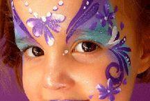 Maquillaje nenas