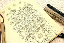 art journaling/etc