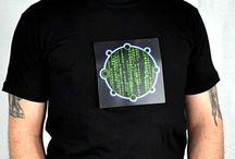 Mens LED Shirts / Men's LED Shirts, Rave Shirts, Party Shirts