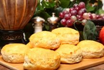 Bread - biscuit & scone recipes