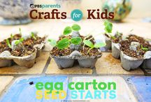 Gardening with the littles / Garden with your kids using these tips and tricks!