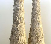 mummy candlesticks
