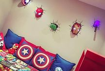 Marvel Boys Bedroom