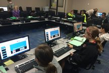 Tech in Action / Here are pictures and examples of technology in action in the classroom!
