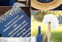 blaue Hochzeiten