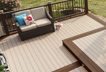 EasyClean Capped Composite Decking / Explore the beautiful decking shades in our EasyClean Range!