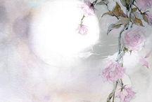 рисунки с цветами