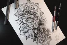 Tatuaggi fiori mandala
