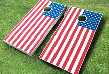 All American Cornhole Board Sets / These cornhole boards are part of our All American Cornhole Board sets that we offer at www.MidwestCornhole.com.