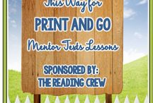 Reading Activities with Mentor Texts