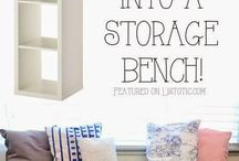 space saving and storage ideas