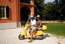 Vespa Tour of Umbria / Driving a Vespa 125XL up and down the green hills of Umbria visiting the wineries, cities and countryside.