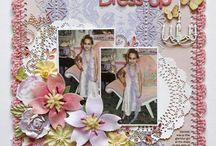 Scrapbook Page Ideas / Awesome scrapbook pages to pull elements and ideas from.