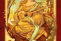 mucha art nouveau