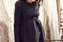 pregnancy coat