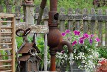fontanny rzeżby i inne ozdoby w ogrodzie