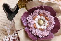 mezclando cuero y crochet