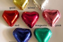 Chocolate Hearts / A unique collection of chocolate hearts for your loved ones.