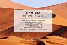 Experience - Namibia through a lens / Many countries in Africa boast teeming wildlife and gorgeous scenery, but few if any can claim such limitless horizons, such wild scenery with a sunny year round climate and one of the lowest people per square km count in the world. Namibia's light and colours bring out the depth you have been searching for in the heart of nature.